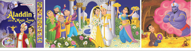 Aladdin and the Magic Lamp. AZ BOOKS