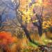 «Осеннее солнце», Маралсай, холст, масло, 55х70см., 2018г.