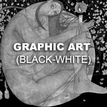 Graphic art Black-wight