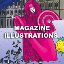 Magazine illustrations