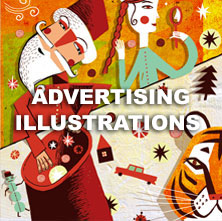 Advertising illustrations